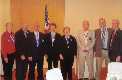 Kiwanis Members who have won Hixon Awards