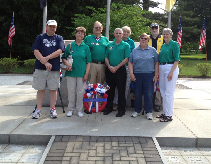 Kiwanis Members on Memorial Day 2012
